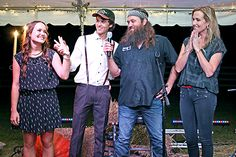 """Duck Dynasty star John Luke Robertson tells Us Weekly that he """"just knew"""" his fiancee Mary Kate McEacharn was the one -- how he proposed! John Luke Robertson, Mary Kate Robertson, Robertson Family, Duck Dynasty Family, Duck Commander, Future Wife, Mom And Dad, Role Models, Celebrity News"""
