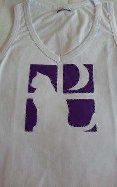 camiseta regata gatinha