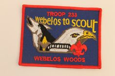 Patches Webelos and letter H Boy Scouts by GreyguyIndustries