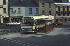 D. Jones & Son Bus at Carmarthen Bus Station, 1977