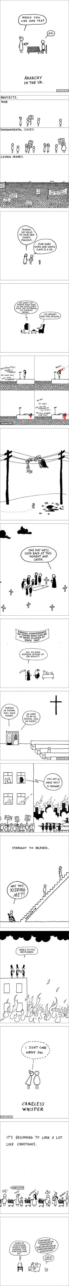 The 15 Best Dark Humor Cartoons by Hugleikur Dagsson