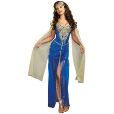 Adult Medieval Beauty Sexy Costume ($55) ❤ liked on Polyvore featuring costumes, halloween costumes, multicolor, sexy adult halloween costumes, dreamgirl, princess costume, colorful halloween costumes and adult princess costume