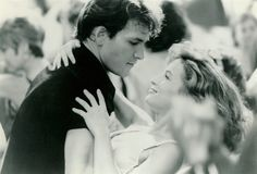 "Dirty Dancing- Patrick Swayze, Jennifer Grey. ""Me? I'm scared of everything. I'm scared of what I saw, I'm scared of what I did, of who I am, and most of all I'm scared of walking out of this room and never feeling the rest of my whole life the way I feel when I'm with you."""