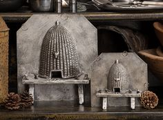 Bee skep chocolate molds...