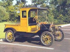 Classic and Cute as a Button - 1913 Ford Model T Closed Cab Farm Truck