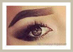 вечерний макияж темно-зеленых глаз, #makeup