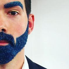 """<p>These super-sparkly bearded bros are enough to make a glitter-loving crafter cheer. Sheesh, these guys are more lit than a Christmas tree! And we're loving that the brows got some glitzy love here, too. <i>(Photo: <a href=""""https://www.instagram.com/callidus/"""">Instagram/Callidus</a>)</i><br /></p>"""