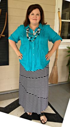 I love this Lady! She has a wonderful blog called Pennington point and she is amazing Christian Wife and Mother to 7 children. Her postings on Modest dressing for herself and her daughters has been an inspiration for me.
