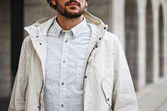 Ben Sherman LS Slub Plain - Off White | MA12408 OFW | 85€ | Jetzt im stickabush Online Shop bestellen!