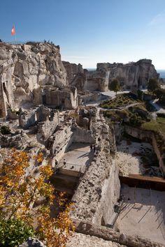 Vues extérieures | Château des Baux de Provence - Monument historique en Provence, Les Baux-de-Provence - géré par Culturespaces