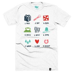 Quilting Steps T-shirt - Preorder