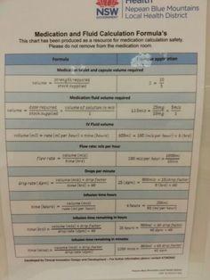 How to calculate drugs … Nursing Math, Nursing Board, Pharmacology Nursing, Nursing School Tips, Nursing Tips, Nursing Notes, Nursing Students, Rn School, Pharmacy School