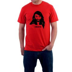 Conchita Wurst T-shirt . Eurovision Song Contest by SillyTees