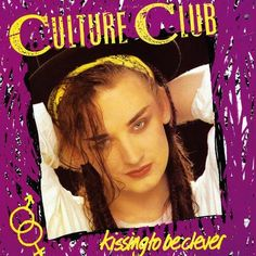 USED VINYL RECORD 12 inch 33 rpm vinyl LP Released in 1982, Kissing to Be Clever is the debut album by the English band Culture Club (Epic/Virgin Records AL 38398 FE 38398) Side 1: Do You Really Want