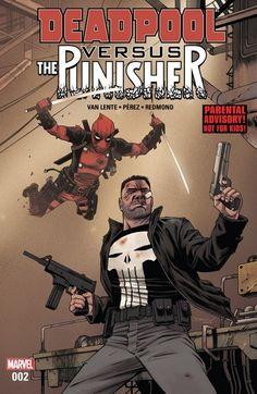 Deadpool vs. The Punisher n°2 (26.04.2017) #deadpool #thepunisher #marvel #comics