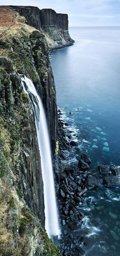 Kirk Rock Falls, Scotland