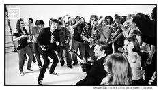 Photo 85 of 365  HANSON 2010 - Give A Little Video Shoot - Tulsa OK    Here we are having a great time with the many dancers and extras in the Give A Little music video. If you  have seen the video, tell us about your favorite characters in it (there are many).    #Hanson #Hanson20th