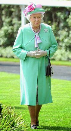 THE GREEN  H.M. Queen Elizabeth II of Great Britain