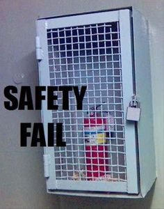 Funny Safety Fails