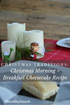Christmas Traditions: Christmas Morning + Breakfast Cheesecake Recipe #SendHallmark AD - My Big Fat Happy Life The Ultimate Pinterest Party, Week 78