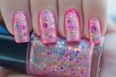 Pink Glitter Explosion!
