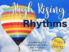 50% off- High Rising Rhythms {A Bundled Set of Rhythm Games}