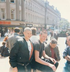 Some of 'The Crew', Newcastle Upon Tyne, 1984.