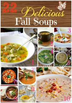 22 Delicious Fall Soups