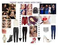 """""Move"" Music Video With Little Mix"" by famouskike1616 ❤ liked on Polyvore featuring River Island, Michael Kors, Charlotte Tilbury, WearAll, Miss Selfridge, Qupid, Yves Saint Laurent, Lime Crime, Wild Diva and Giuseppe Zanotti"