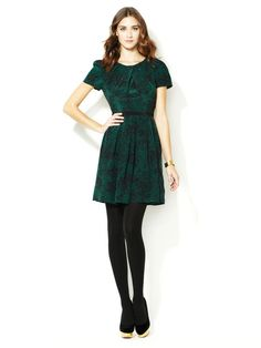Cynthia Steffe Maddie Silk Crepe De Chine Dress   I want a dress like this, but a little more length.
