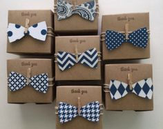 Little Man baby shower bow tie favor boxes bow tie favors Little Man Babyparty-Fliegenbevorzug Gift Wrapping Bows, Gift Wraping, Creative Gift Wrapping, Baby Shower Cards, Baby Shower Favors, Baby Shower Gifts, Baby Shower Themes, Baby Shower Cupcakes For Boy, Baby Shower Decorations For Boys