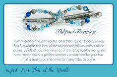Tidepool Treasures Lilla Rose August Flexi of the Month #LillaRose #TidepoolTreasures #AugustFlexi #FlexioftheMonth