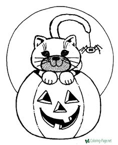 Halloween Coloring Pages Printable . 24 Halloween Coloring Pages Printable . Halloween Printable Coloring Pages Minnesota Miranda Halloween Pumpkin Coloring Pages, Halloween Coloring Pictures, Halloween Coloring Sheets, Fall Coloring Pages, Cat Coloring Page, Coloring Pages To Print, Animal Coloring Pages, Coloring Pages For Kids, Coloring Books