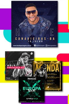 Cards - Redes Sociais on Behance