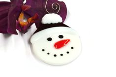 These adorable Snowman Christmas ornaments are currently looking for a new home. Not only would they be cute hanging on your tree, but they could be used as name cards and placed at each place setting. You can use a sharpie to write names on her hat rim or I can do a custom order for you and it will be permanent. They also make a great gift for that snowman collector you might know. They are my own design and were hand cut and hand painted in my studio. His eyes and mouth were painted with…
