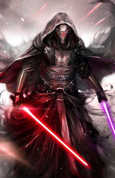 Because my hype for The Last Jedi is reaching astronomical levels, I feel the need to make a Star Wars post.  For those who do not know, Darth Revan is my all time favorite Star Wars character, and I patiently await the day he returns to canon.  Credit...