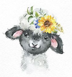 great from each other easy canvas painting, painting landscapes, sunset painting, chalk paint colors, paint colors ideas. Check out other amazing examples Baby Animal Drawings, Cute Drawings, Watercolor Animals, Watercolor Paintings, Baby Animals, Cute Animals, Dibujos Cute, Bunny Art, Animal Paintings