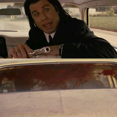 """Oh man, I just shot Marvin in the face."" Pulp Fiction"