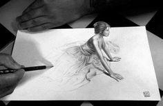 Unbelieveable 3D Drawing by Joaquim Jose Maio Cruz (Portugal)