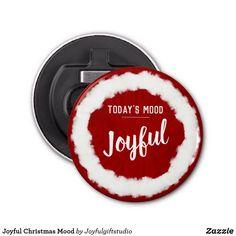 Shop Joyful Christmas Mood Bottle Opener created by Joyfulgiftstudio. Holiday Cards, Christmas Cards, Christmas Decorations, Todays Mood, Christmas Mood, Kit, Elephant Gifts, Joyful, Bottle Opener