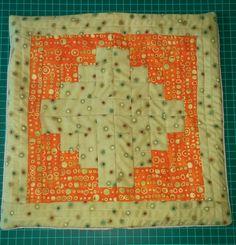 Funda para cojin 2 en patchwork