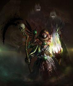 Necromancer Art | Posessed Necromancer by Tsylore