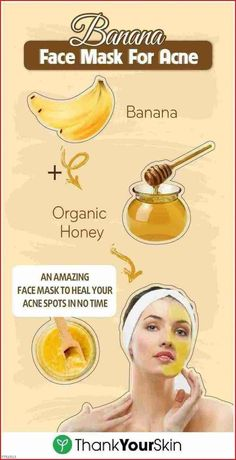 Amazing Bananas - Face Mask For Acne - Style Vast - Amazing Bana . - Amazing Bananas – Face Mask For Acne – Style Vast – Amazing Banana Face Mask For Acne – - Homemade Face Masks, Homemade Skin Care, Homemade Facials, Banana Face Mask, Avocado Face Mask, Coffee Face Mask, Face Mask For Pores, Beauty Hacks For Teens, Beauty Tips For Glowing Skin