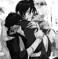 Kuchiki Byakuya and Kuchiki Rukia - Bleach