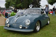 Porsches From This Years Friends of Steve McQueen Show