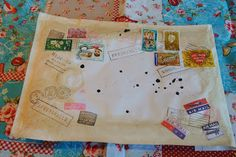 Esther's etalage: post snail mail