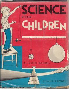 Love vintage science books