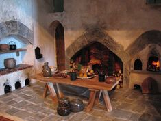 kitchen medieval | Posted by The Dangerous Mezzo at 9:57 AM