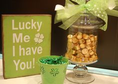 Lucky Me - DIY St. Patrick's Day decor