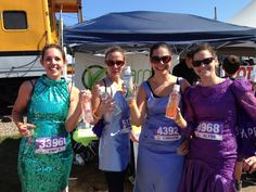 Divas were dressed to impress at the @SHAPE magazine @SHAPE Diva Dash in Boston!